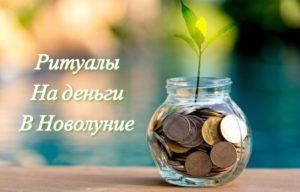 Действенные обряды на деньги в новолуние