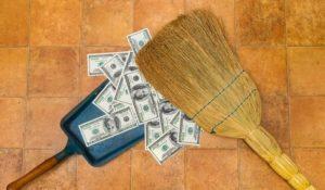 Заговор на веник на деньги