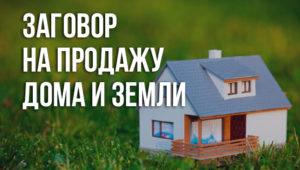 Заговор на продажу земельного участка